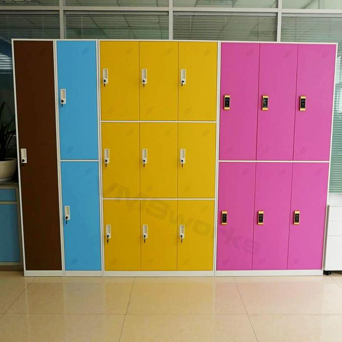 China Factory Wholesale High School Different Color Sport 6 Door Steel Locker Storage Unit Manufacturers,Suppliers,Factory,Wholesale-Henan Vimasun Industry Co.,Ltd.