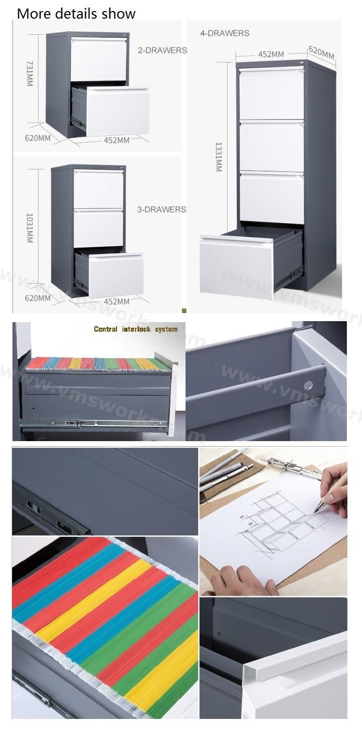 China Office Furniture,Filing Cabinet,New Design Customized Handle 2/3/4 Drawer Vertical Office File Cabinet Furniture,2 Drawer Office Storage,4 Drawer Filing System,Vertical File Cabinet,File Cabinet  Drawer,Cabinet Office Furniture,Manufacturers,Suppliers,Factory,Wholesale,Price