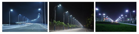 street light application 60W