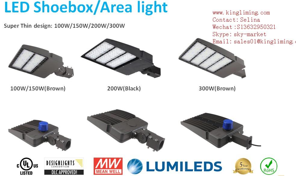 Kingliming UL DLC led shoebox light.JPG