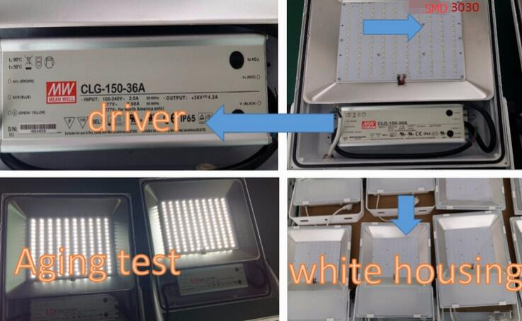 LED flood light parts and test.jpg