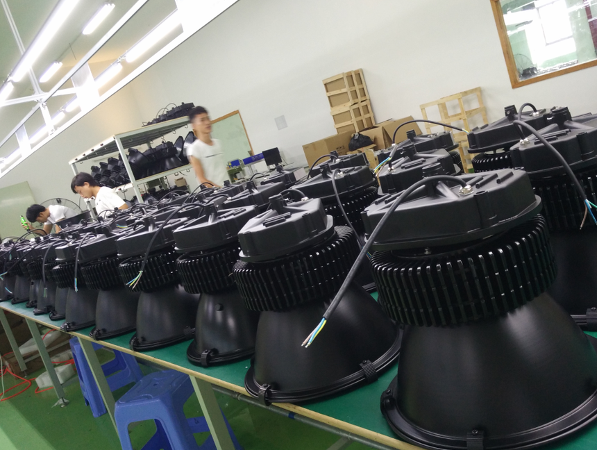 100W highbay production