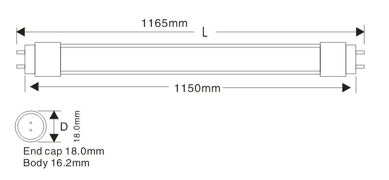 T5 115cm