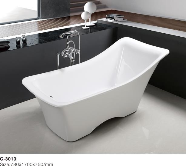 (3) C-3013 -Europe-Style Irregular Shape Acrylic Freestanding Bathtub, White.jpg