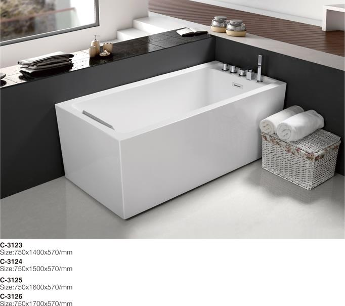 (1)C-3123-Four Different Size Offered Rectangular Free Standing Acrylic Bathtub.jpg