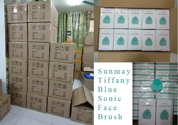 Sunmay Tiffany Blue Face Brush Production News.jpg