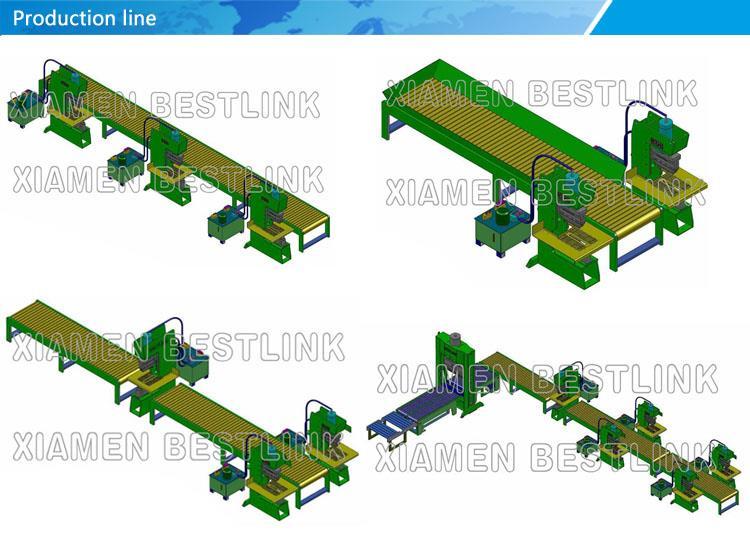Línea de producción para la máquina de dividir piedra 2