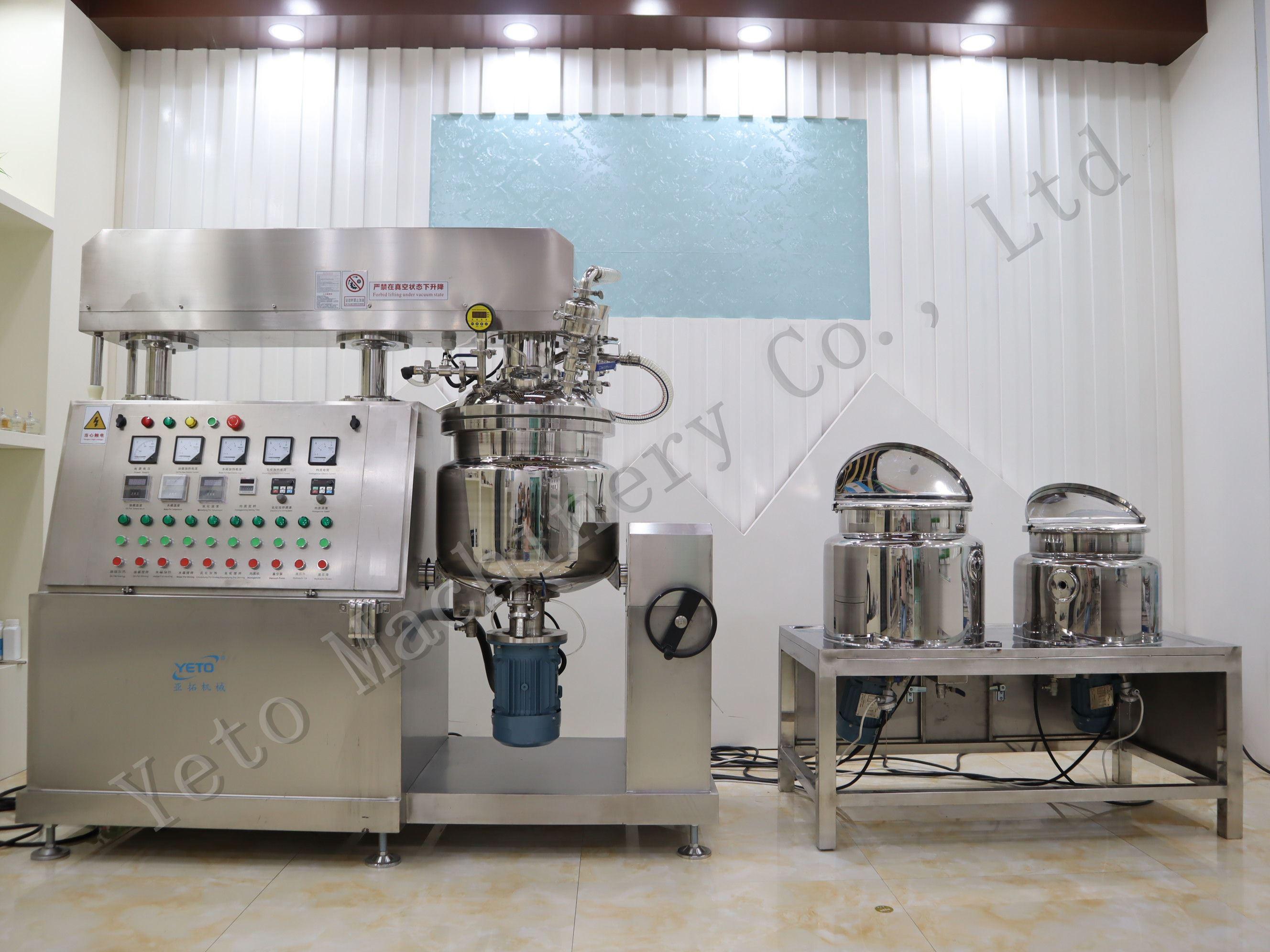 液压提升真空均化器乳化剂搅拌机